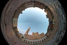 Campo för ställe för Siena fisköga Royaltyfri Bild