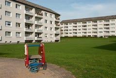 Campo giochi urbano Immagine Stock