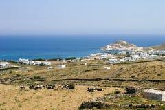 Campo griego Imagen de archivo libre de regalías