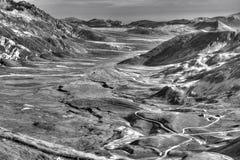 Campo Imperatore Абруццо Италия черно-белая Стоковые Изображения RF