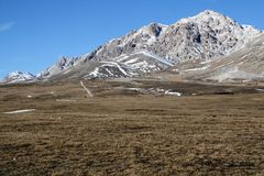 Campo Imperatore 6 images stock