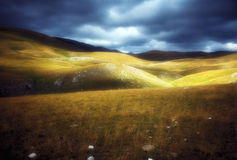 Campo Imperatore Royalty Free Stock Photos