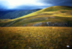 Campo Imperatore Royalty Free Stock Photography