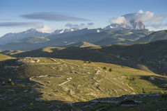 Campo imperatore in Abruzzo, Stock Photos
