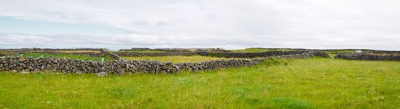 Campo irlandés Foto de archivo