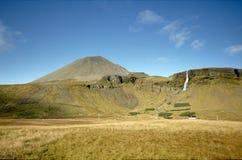 Campo islandés Foto de archivo