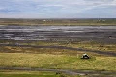 Campo islandés en Islandia foto de archivo libre de regalías