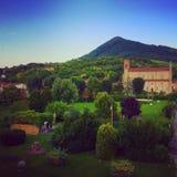 Campo italiano Foto de Stock