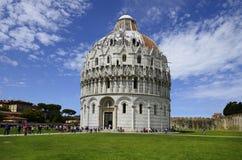 campo katedralnego dei zespołu Italy oparty miracoli Pisa wierza Obraz Royalty Free