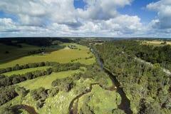 Campo letón, condado de Kandava Imagenes de archivo