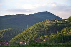 Campo macedónico Foto de archivo libre de regalías
