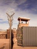 Campo militare da qualche parte nel mondo Immagine Stock Libera da Diritti