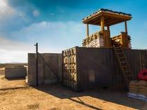 Campo militare da qualche parte nel mondo III Fotografia Stock Libera da Diritti