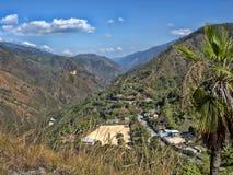 Campo montanhoso na Guatemala central imagens de stock