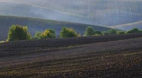 campo montanhoso pitoresco fotografia de stock royalty free