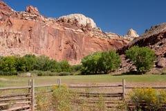 Campo nell'Utah Fotografia Stock