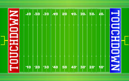 Campo NFL di football americano royalty illustrazione gratis