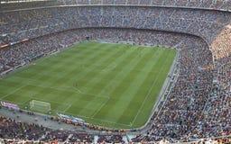 Campo Nou del estadio Fotografía de archivo