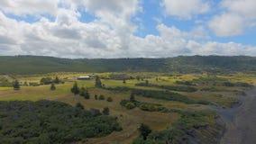 Campo Nueva Zelandia Imagen de archivo libre de regalías