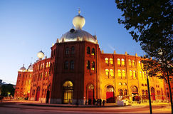 Campo Pequeno at Dusk - Lisbon Bullring - Architecture Royalty Free Stock Images