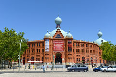 Campo Pequeno, Lisbon, Portugal Royalty Free Stock Photography