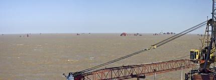 Campo petrolífero Fotos de Stock