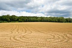 Campo Ploughed Fotografia de Stock Royalty Free