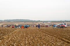 Campo Ploughing da competição Imagens de Stock