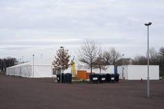Campo profughi Fotografia Stock Libera da Diritti