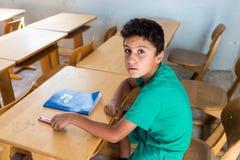 Campo profughi di Lagadikia Fotografie Stock Libere da Diritti