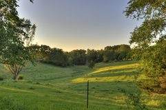 Campo rural Imagem de Stock