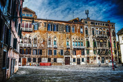 Campo San Maurizio em Veneza Fotos de Stock Royalty Free