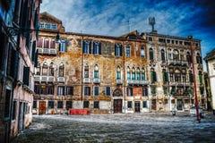 Campo San Maurizio in Venedig Lizenzfreie Stockfotos