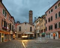 Campo San Toma in Venice. Veneto. Italy Stock Photography