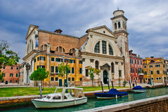 Campo San Trovaso, Venedig Lizenzfreie Stockfotos