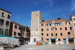Campo Santa Margherita en Venecia Imagen de archivo