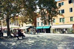 Campo Santa Margherita en Venecia Fotografía de archivo