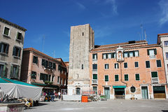 Campo Santa Margherita in Venice Stock Image