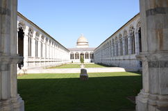 Campo Santo. The Campo Santo, also known as Camposanto Monumentale (monumental cemetery) or Camposanto Vecchio (old cemetery), is a historical edifice at the Royalty Free Stock Photos