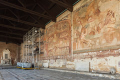 Campo Santo at the northern edge of the Pisa Cathedral Square, I Royalty Free Stock Photography