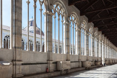 Campo Santo at the northern edge of the Pisa Cathedral Square, I Royalty Free Stock Photos