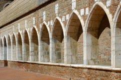 Campo santo in Perpignan Royalty-vrije Stock Afbeelding