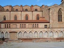 Campo Santo, Perpignan, France. Campo Santo Square, Perpignan, France Stock Photo