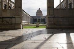 Campo santo przy Pisa Obraz Royalty Free