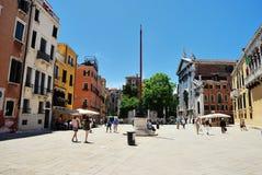 Campo Santo Stefano in Venice Royalty Free Stock Image