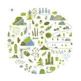 Campo selvaggio, fondo della natura per la vostra progettazione Fotografia Stock Libera da Diritti