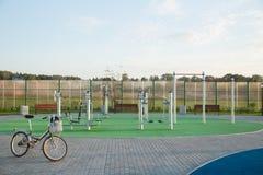 Campo sportivo Immagini Stock Libere da Diritti