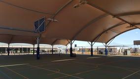 Campo sportivo coperto in Australia occidentale a distanza Fotografia Stock