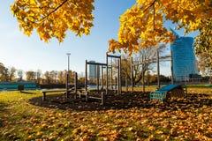Campo sportivo pubblico Fotografia Stock