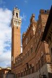 Campo Square in Siena, Italy Stock Photo